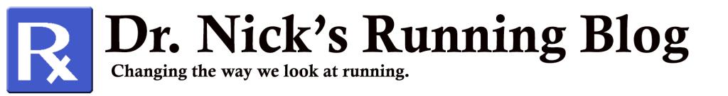 Dr. Nick's Running Blog