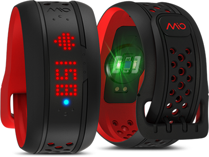 Mio FUSE Heart Rate Monitor Wristband Watch and Activity