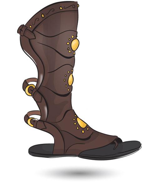 Roman-Gladiator-Sandals