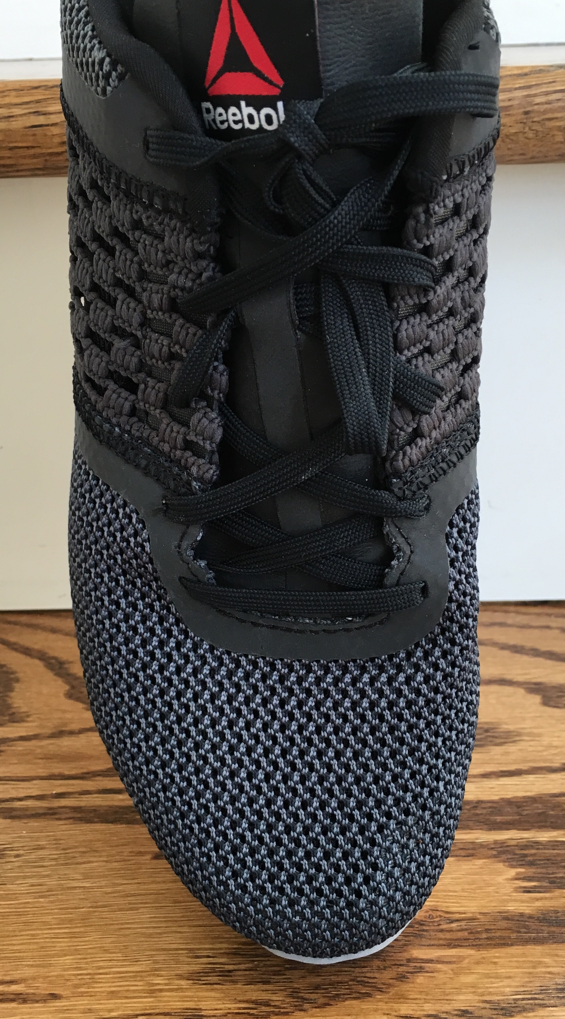 cbdd2f79950 Why can t shoe companies get this right! Our toes were designed to be free  and function independently- not squished together! The Reebok Zprint  forefoot is ...